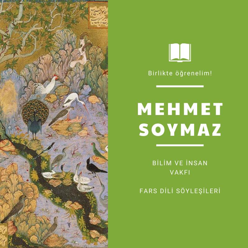 Fars dili söyleşisi - Mehmet Soymaz
