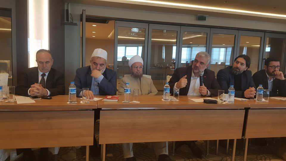 UMAD Uluslararası Müslüman Alimler  dayanışma Derneği III. Yüksek  İstişare Kurulu Toplantısı