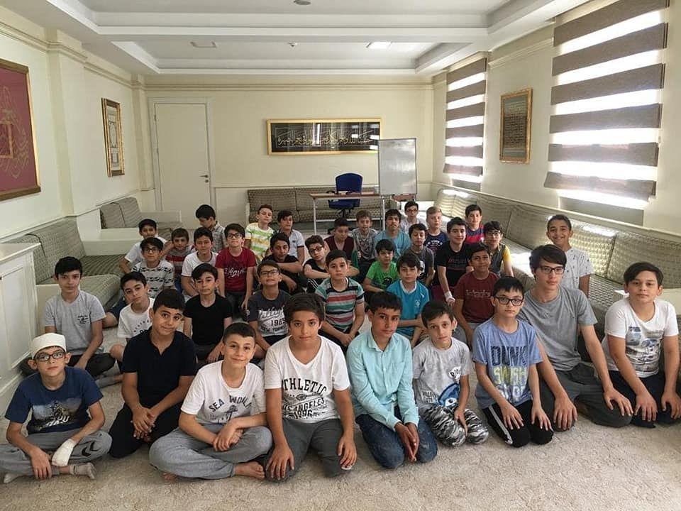 Halilurrahman Erkek Kuran Kursumuzda düzenlemiş olduğumuz yaz okulu çalişmalarımızdan...