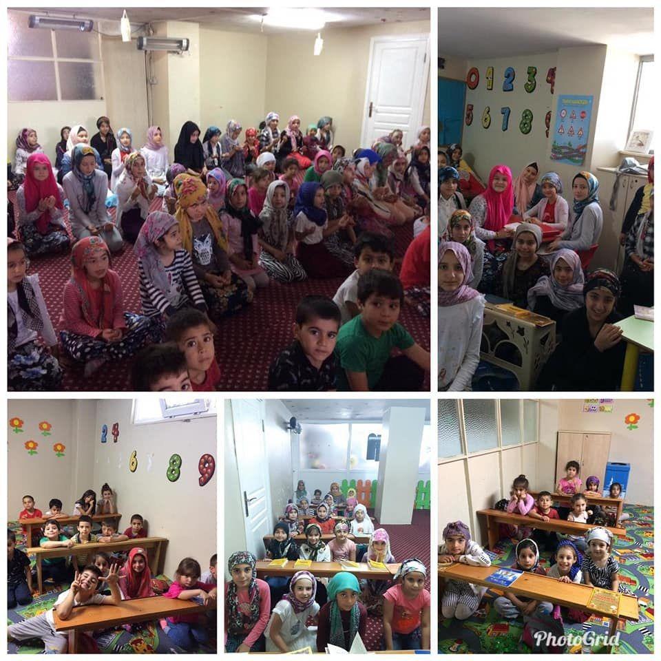 Vakıf Başkanımız Sayın Av. Turan Kıratlı Esenşehir Kız ve Erkek Kuran kurslarımızın düzenlemiş olduğu yaz okulu programlarını yerinde ziyaret ettiler...